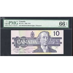 Bank of Canada $10, 1989