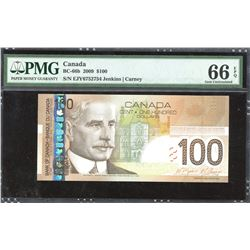 Bank of Canada $100, 2009