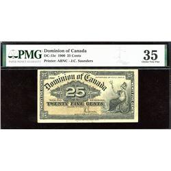 Dominion of Canada Twenty-Five Cents, 1900