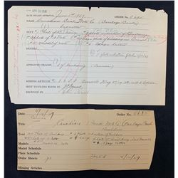 Barclays Bank Lot of 5 Rare Documents