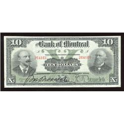Bank of Montreal $10, 1904