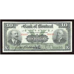 Bank of Montreal $10, 1904