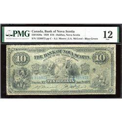 Bank of Nova Scotia $10, 1929