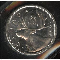 1956 Twenty-Five Cents