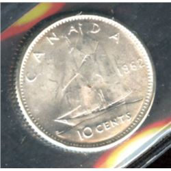 1962 Ten Cents