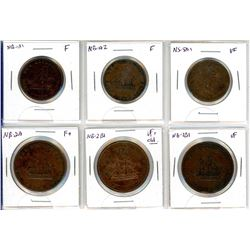 NB and NS Token Lot of 6