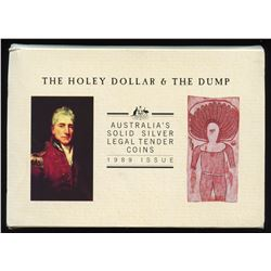 1989 Australian Holey Dollar & the Dump