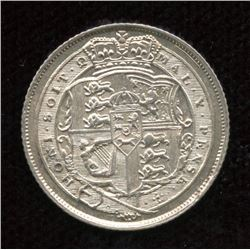 Great Britain - George III (1760 - 1820). 1820 Sixpence