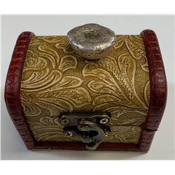 "CHINA Qing Dynasty ""Fu"" Silver Ingot"