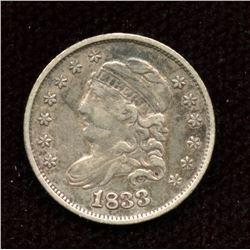 US half-dime 1833, VF grade