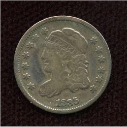 US half-dime 1835, F+ grade