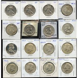 USA Half Dollars - Lot of 30