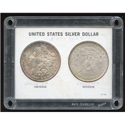 United States Grandma's 1896 & Grandpa's 1881 S Silver Dollars