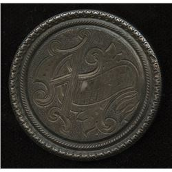United States Silver Dollar Love Token, 1883