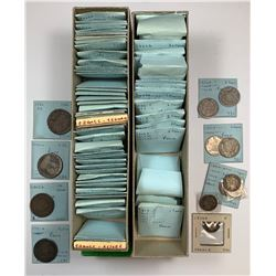 World Coins - France - Lot of 226 Coins