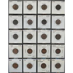 Canadian One Cent Lot