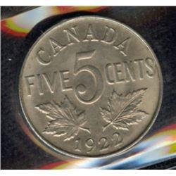 1922 Five Cents