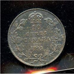 1911 Ten Cents