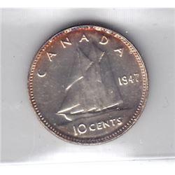 1947 Ten Cents