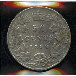 1898 Fifty Cents