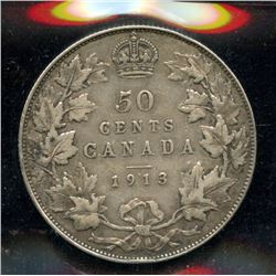 1913 Fifty Cents
