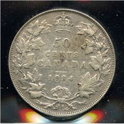 1934 Fifty Cents