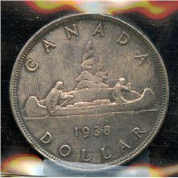 1938 Silver Dollar