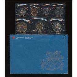 1999 Canada $2 Dollars Nunavut Error Mule Uncirculated Proof Like Set Sealed RARE!
