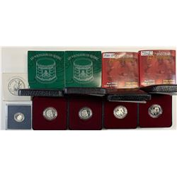 RCM Silver Proof 5c & 10c - Lot of 5