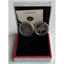 2013 Year of the Snake $15 - Lot of 2