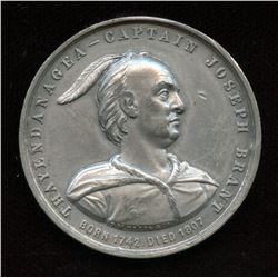 1886 Captain Joseph Brant, Thayendenagea, Leroux Medal