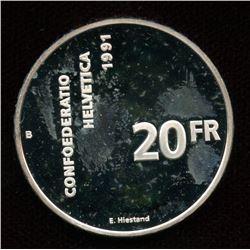 Switzerland 1991 700 Years of Confederation
