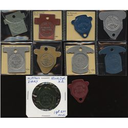 New Brunswick - Post Confederation Tokens
