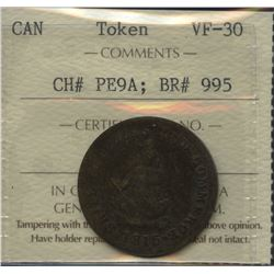 Br. 995. 1815 Ships Colonies and Commerce One Half Penny Token