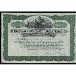 Pictou County Electric Co. Ltd. Share Certificate