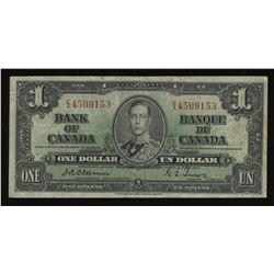 Bank of Canada $1 - Osborne, 1937