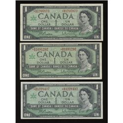 Bank of Canada $1, 1967 *B/M Replacement Lot