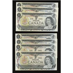Bank of Canada $1, 1973 - Lot of 23
