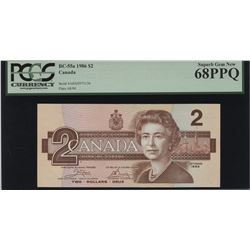 Bank of Canada $2, 1986 Replacement