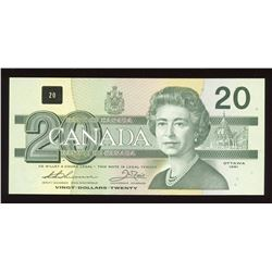 Bank of Canada $20, 1991 Replacement
