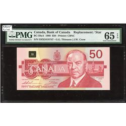 Bank of Canada $50, 1988 Replacement