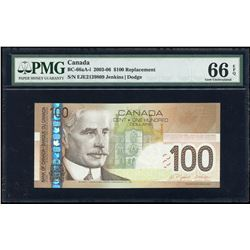 Bank of Canada $100, 2004