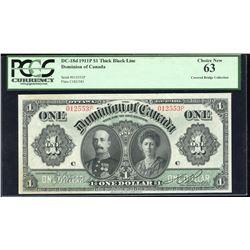 Dominion of Canada $1, 1911