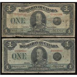 Dominion of Canada $1, 1923 - Lot