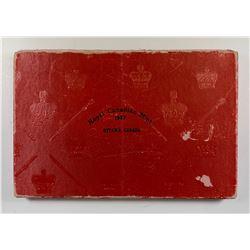 1937 Canada Red Specimen Box