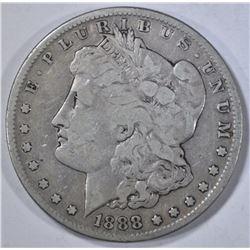 1888-S MORGAN DOLLAR  VG