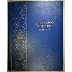 1938-64 BU JEFFERSON NICKEL SET