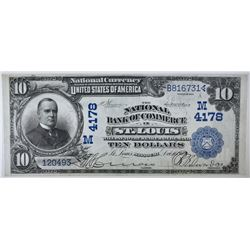 1902 DATE BACK $10 NATIONAL CURRENCY