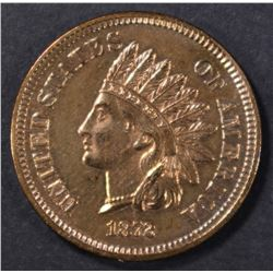 1872 INDIAN CENT  CH PROOF