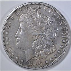 1896-S MORGAN DOLLAR  AU